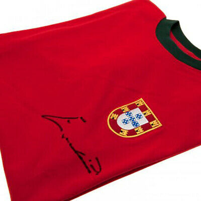 Eusebio - Signed Portugal Shirt