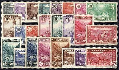 """ANDORRE STAMP TIMBRE N° 24 / 45 """" SERIE PAYSAGES """" NEUFS xx TTB VALEUR: 925€ !!"""