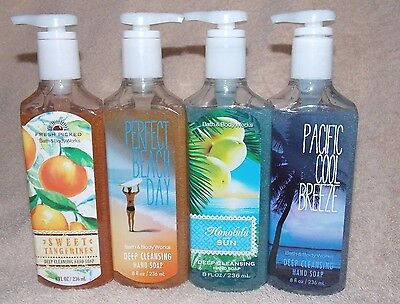 Bath & Body Works CHOOSE SCENT Deep Cleansing Hand Soap Pump 8 oz New