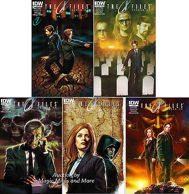 X-FILES Season 10 Comic (16) Issue Run #1 2 3 4 5 6 7 8 9-12 13 14 15 1st print