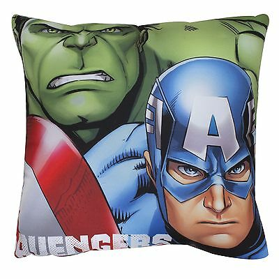 Marvel Avengers Assemble Cushion New Hulk Iron Man Thor