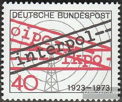 BRD 759 FDC 1973 Interpol
