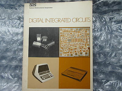 Old 1971 National Semiconductor Corporation Digital Integrated Circuits Book