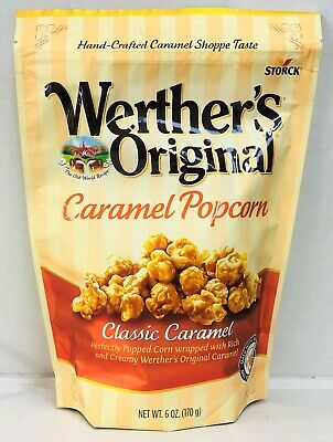 Storck Werther's Original Classic Caramel Popcorn 6 oz Werthers