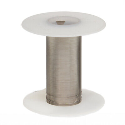 """22 AWG Gauge Tinned Copper Wire Buss Wire 100' Length 0.0254"""" Silver"""