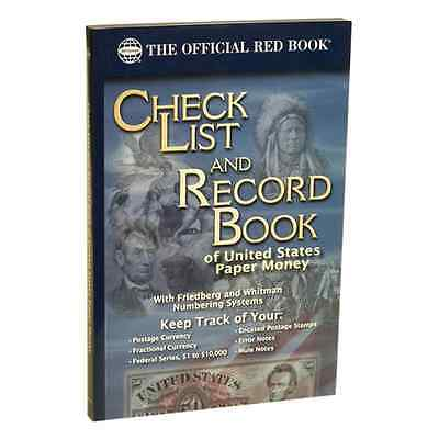 Whitman's Check List and Record Book of US Paper Money (WHREDCLPM)