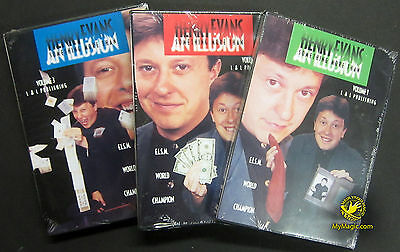 Henry Evans' Something More Than An Illusion Volume 1-3 :: NEW DVD