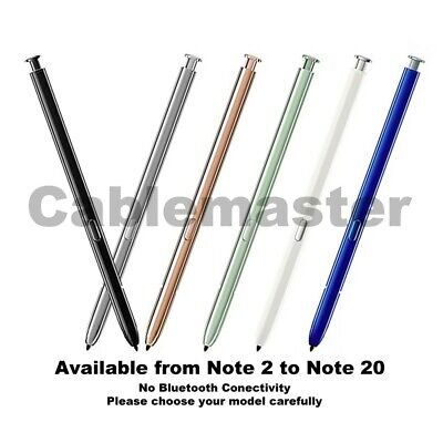 Replacement S Pen Touch Screen Stylus Eraser For Samsung Note 2 3 4 5 6 7 Ii Iii