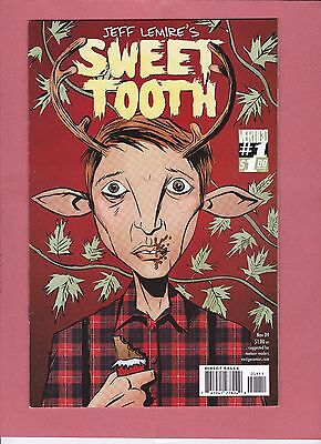 SWEET TOOTH #1 DC Comics 1st Print Jeff Lemire's Low Print Run Sold Out  Trending
