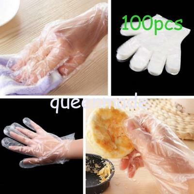 Hotsale Kitchen Disposable Gloves Polythene Plastic Restaurant Home Food Cook Q