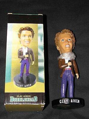 Clay Aiken Bobblehead UNCC 49'ers 2003 collectors series American Idol Claymates
