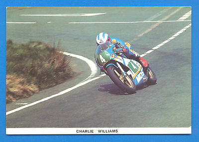 Charlie Williams At The Bungalow,1984 T.t.postcard