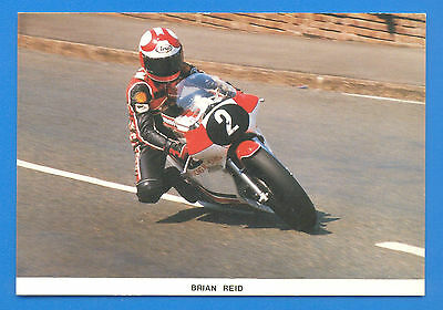 Manx Reid At May Hill,ramsey,1985 T.t.limited Edition Postcards