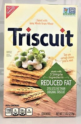 Nabisco Triscuit Reduced Fat Crackers 8 oz
