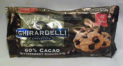 Ghirardelli 60% Cacao Bittersweet Baking Chips 10 oz