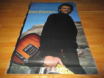 1985 Promotional JOHN  FOGERTY (Photography by Just Loomis) Poster CCR
