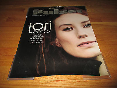 "November 2002 Promotional Tower Records TORI AMOS ""PULSE"" Poster"