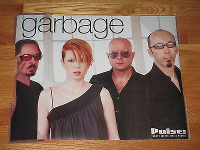 Tower Records Promitional Pulse GARBAGE Poster