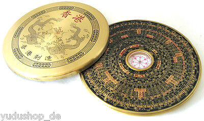 Feng Shui Compass luo-pan with Jewelry Lid Metal
