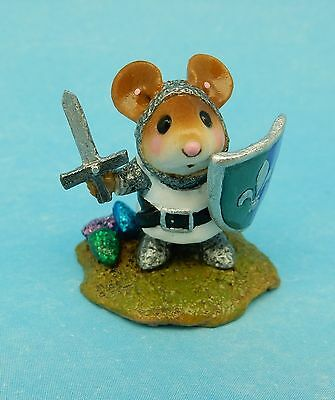 THE WHITE KNIGHT by Wee Forest Folk, WFF# M-400, Fairytales Event Special