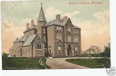 irish postcard ireland westmeath mullingar bishops palace