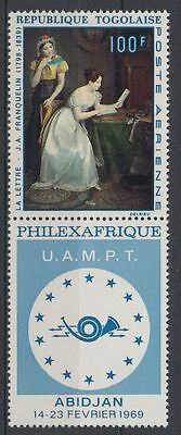 Togolaise Togo 1968 ** Mi.671 A Maler Painter Art   Stamps on Stamps [sq3866]