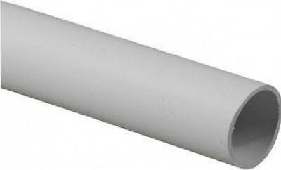 Light Gauge Round 25mm Conduit 3M White