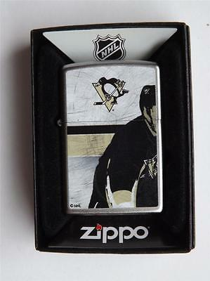 Pittsburgh Penguins Zippo Lighter Nhl Hockey Team New Gift Box Discontinued