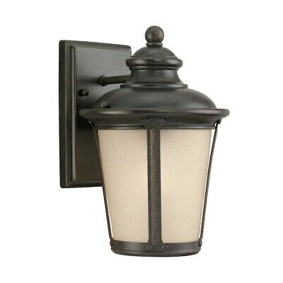 Sea Gull Lighting Single Light Wall Lantern in Burled Iron - 88240-780