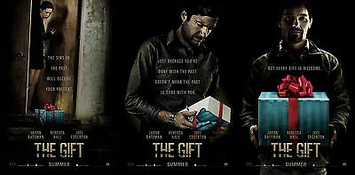 The Gift - original DS movie poster  D/S 27x40 Advance set of 3