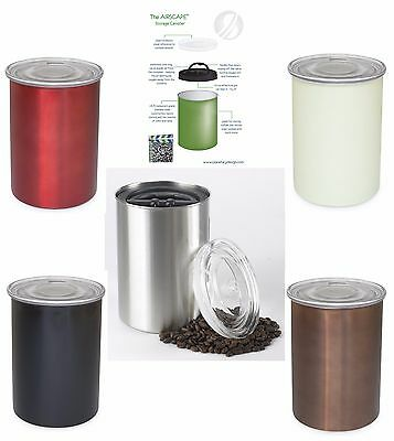 Planetary Design Airscape Food Coffee Storage Canister 64 fl.oz, Pick Your Color