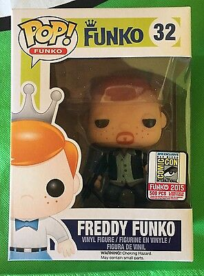 Sdcc 2015 Exclusive Fundays Funko Pop Walking Dead Darly Dixon Bloody Le 500