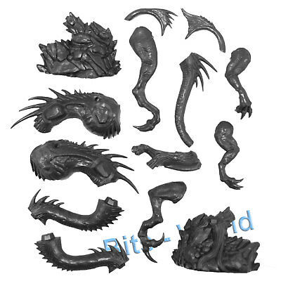 Warhammer Bits: Dark Elves Black Dragon - Body & Tail