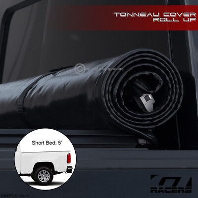 """Lock & Roll Soft Tonneau Cover 2015+ Colorado/canyon Crew Cab Truck 5 Ft 60"""" Bed"""