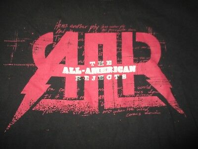 "THE ALL-AMERICAN REJECTS ""I WANT TO ROCK!"" Concert Tour (MED) T-Shirt"