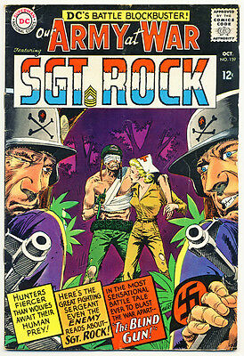 OUR ARMY AT WAR #159 VG, 1st Nurse Wendy Winston-c/s, DC Comics 1965