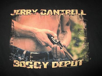 "1998 JERRY CANTRELL of ALICE IN CHAINS ""BOGGY DEPOT"" Concert Tour (LG) T-Shirt"