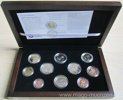 Finnland KMS Kursmünzensatz Coin Set 2013 PP Proof