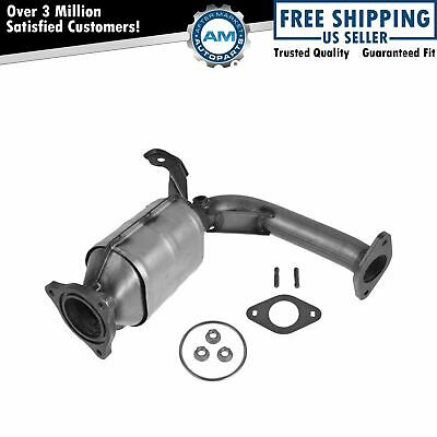 Catalytic Converter & Front Exhaust Pipe for Chevy Pontiac Saturn L4 2.4L New