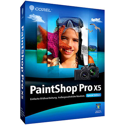 Corel PaintShop Pro X5 Special Edition
