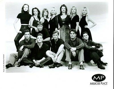 "Heather Locklear and Cast Of Melrose Place Original 8x10"" Photo #J6072"