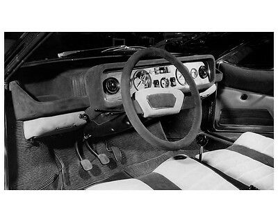 1970 Fiat 128 Coupe Bertone Interior Brussels Factory Photo ca2438