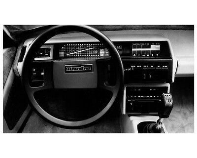 1979 Fiat Bertone Tundra Concept Interior Factory Photo ca2440