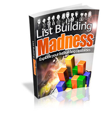 Explore Your List Building Capabilities. Build A Quality Opt-In Email List  (CD)