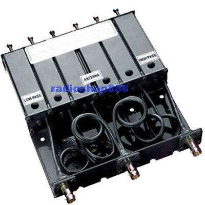 VHF 6 CAVITY DUPLEXER for radio repeater BNC connector SQ