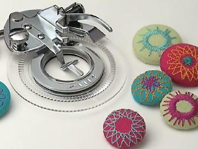 Sewing Machine Flower Stitch Embroidery Foot --Brother Singer Janome Juki