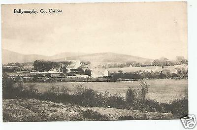 irish postcard ireland carlow ballymurphy village