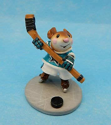 SLAPSHOT by Wee Forest Folk, MS-20, SAN JOSE SHARKS COLORS, Store Special