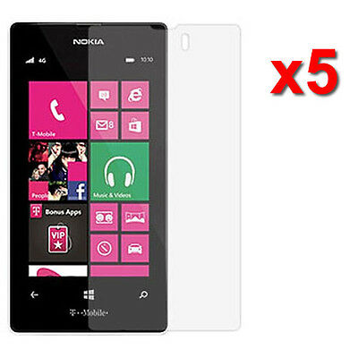 5X Crystal Clear LCD Screen Protector Flim for Nokia Lumia 521 T-Mobile Accesso