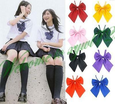 Adjustable  Japanese School Girls JK Uniform Bow Tie Students Bowknot Necktie